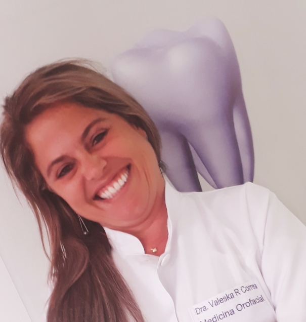 Dentista especializada em pacientes com pânico